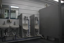 portable restroom trailer rental, containerized restroom rental, portable restroom trailer rental, modular restroom trailer rental