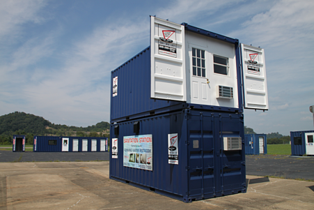 Storage on the Spot, Portable office, DropOffice, office trailer, job site office
