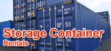 Storage on the spot, portable storage container rental, rent storage container, portable storage container rental, rent a portable storage container