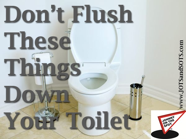 Blog septic tank pumping - Things never flush ...