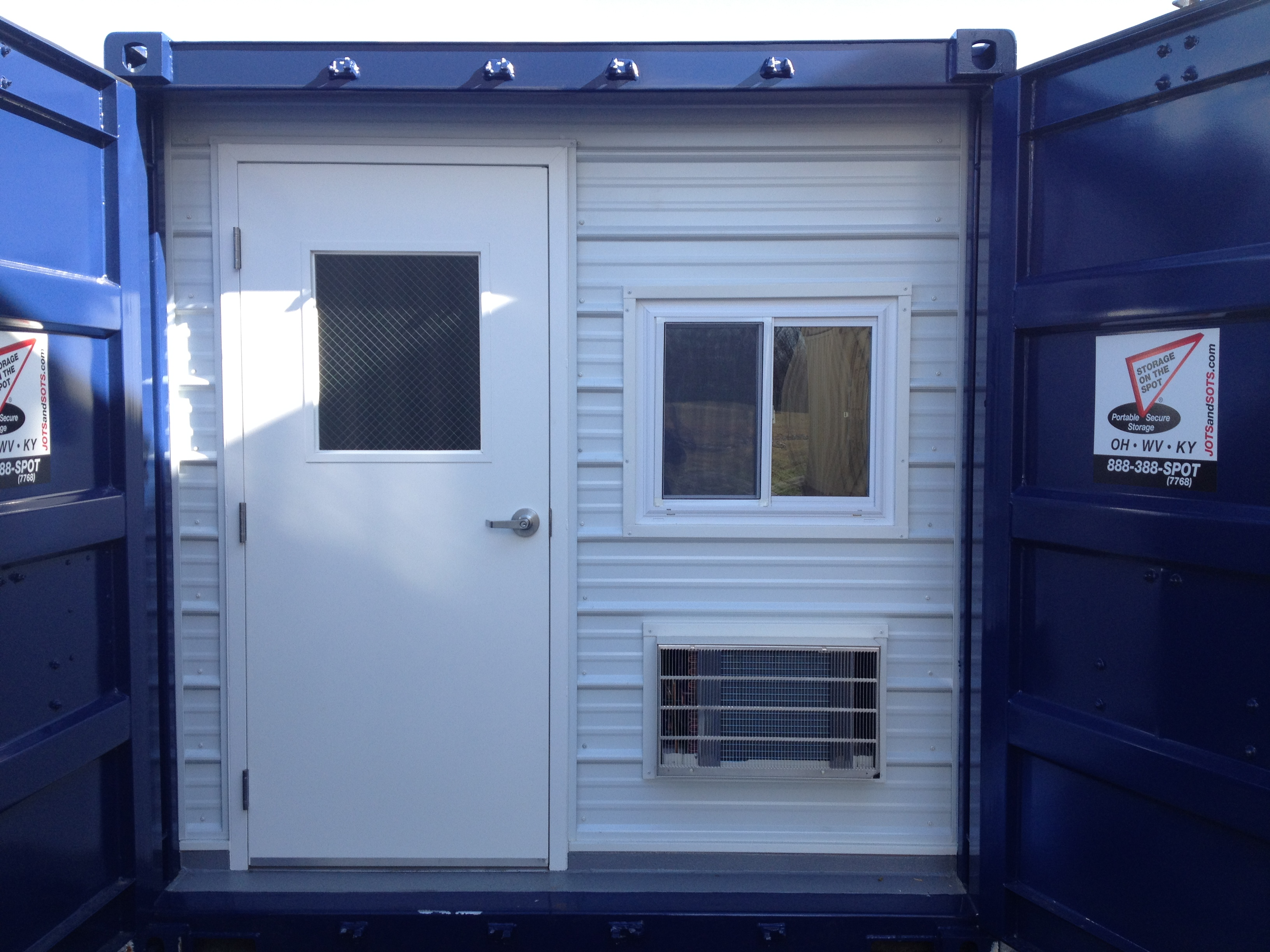 Storage on the Spot and The Ground Level Containerized Office for