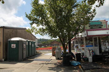 Johnny on the Spot, Storage on the Spot, Portable toilets, storage containers