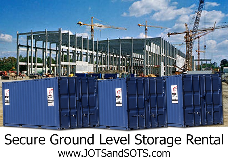 Eliminate Theft on your Jobsite with Portable Ground Level Storage